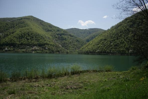 Bosnian landscape - dangerously beautiful.