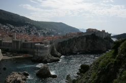 A view of Dubrovnik's old town.