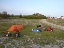 Camping in Bosnia