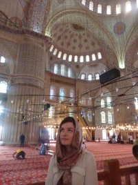 Ruth in the Blue Mosque