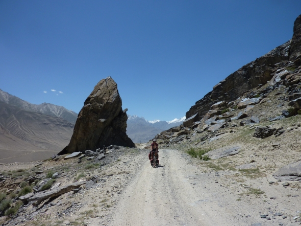 Climbing up the Wakhan