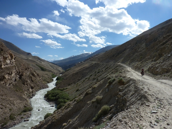 The upper end of the Wakhan Valley