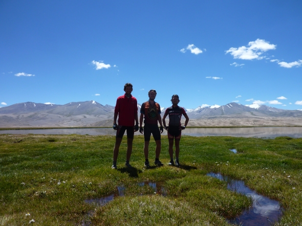 Standing on the Pamir Plateau
