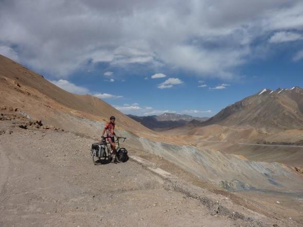Climbing Ak Baital.