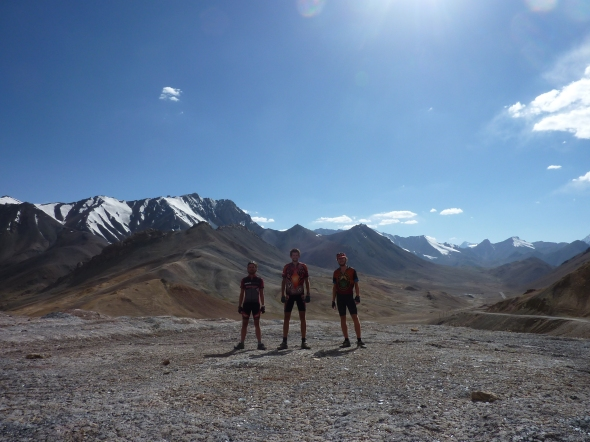 Standing, just, at 4655 metres.