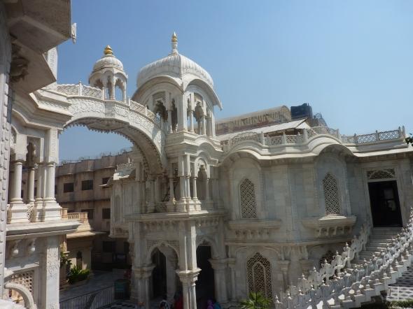 Hare Krishna temple in Vrindivan