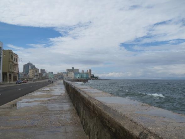 Havana's crumbling seafront