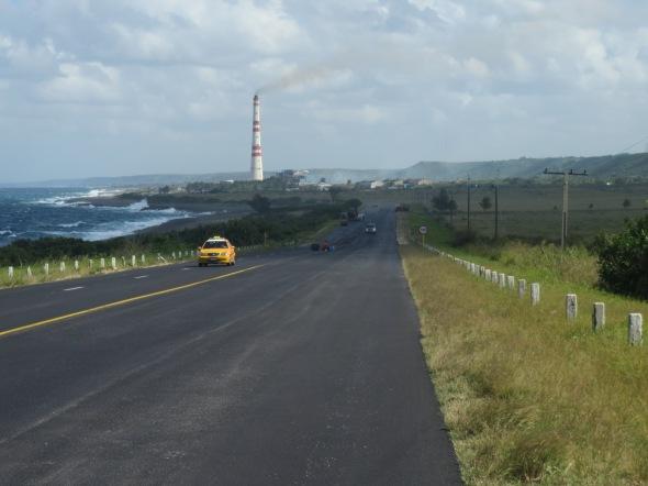 Following the coast towards Matanzas